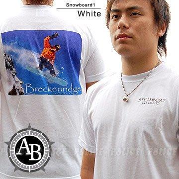【IUHT】American Backcountry戶外休閒圖騰T恤系列(snowboard1)