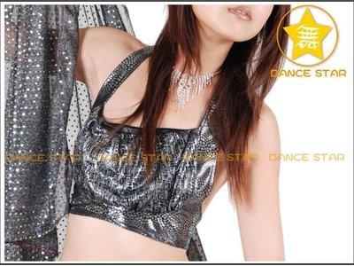 星星拍賣館【肚皮舞 舞台服】-閃亮舞孃-貼式-性感混搭上衣-多色-訂購前請先留言確認顏色-單件190元