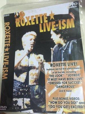 ##非官方DVD  Roxette Live  全區 最後一份
