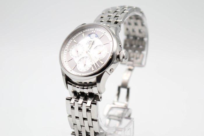 【高雄青蘋果】ORIS Mens Wristwatch 581.7606.40.51MB 二手手錶 #32932
