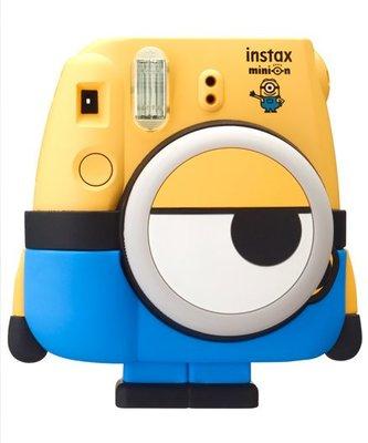 【日貨代購CITY】FUJIFILM instax mini8 x MINION 小小兵 拍立得 自拍 相機 +底片預購