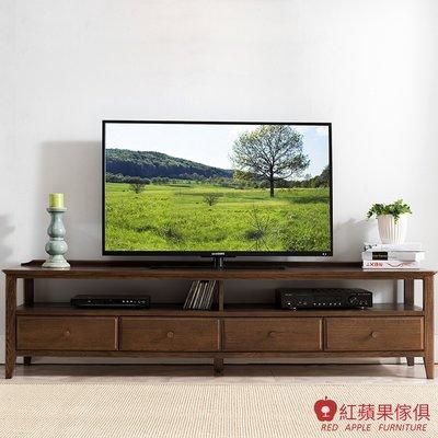 [紅蘋果傢俱]JM002 電視櫃 北歐風電視櫃 日式電視櫃 實木電視櫃 無印風 簡約風