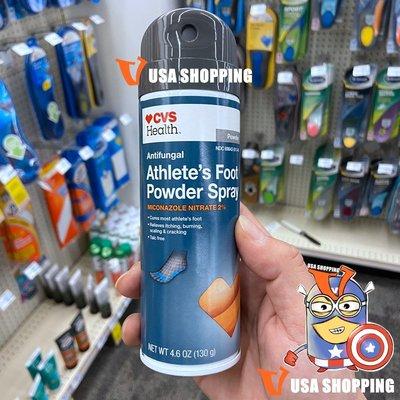 北美旗艦代購~美國直發CVS Health Athlete's Foot Powder Spray 4.6oz130g免運