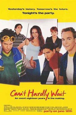 等不及說愛你-Can't Hardly Wait (1998)原版電影海報