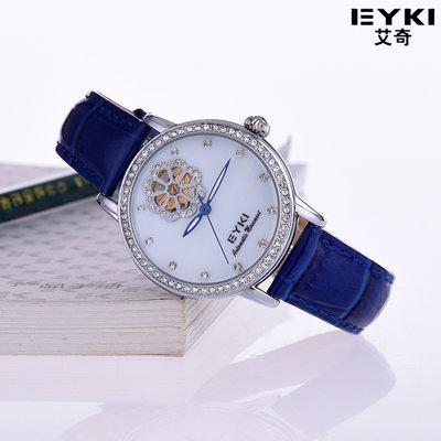 手錶代購正品手錶全自動機械錶女錶鏤空皮帶防水夜光女士手錶時尚潮流腕錶