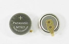 短腳 Panasonic 光動能電池 295-5100/MT621 手錶充電式電池,CASIO CITIZEN 星辰
