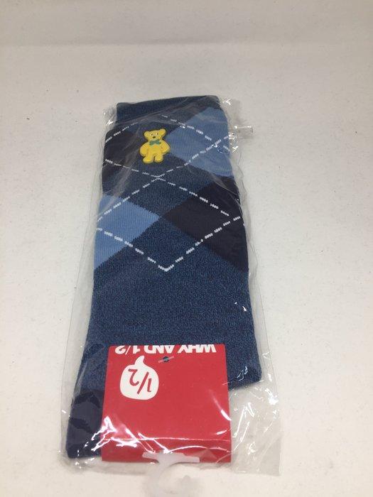 Why and 1/2 藍色英格蘭風長筒襪