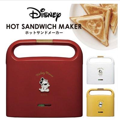 日本代購 迪士尼  TSH-701D Doshisha x Disney 小熊維尼 米奇 吐司機 熱壓三明治機