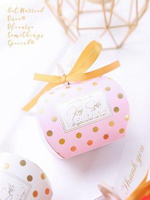 hello小店-創意結婚禮歐式喜糖盒新款款裝喜糖果禮盒空盒子包裝盒粉紅色#喜糖盒#收納盒#盒子#