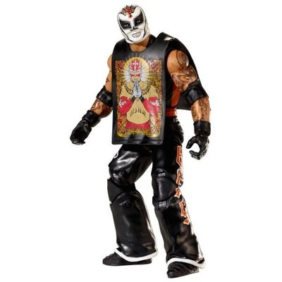 ☆阿Su倉庫☆WWE摔角 Rey Mysterio Elite 24 Action Figure 619最新精華版人偶公仔附偶衣 特價熱賣中