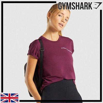 ►瘋狂金剛◄ 暗紅寶石 GYMSHARK ESSENTIAL BE A VISIONARY TEE 夢想家基本短袖T恤