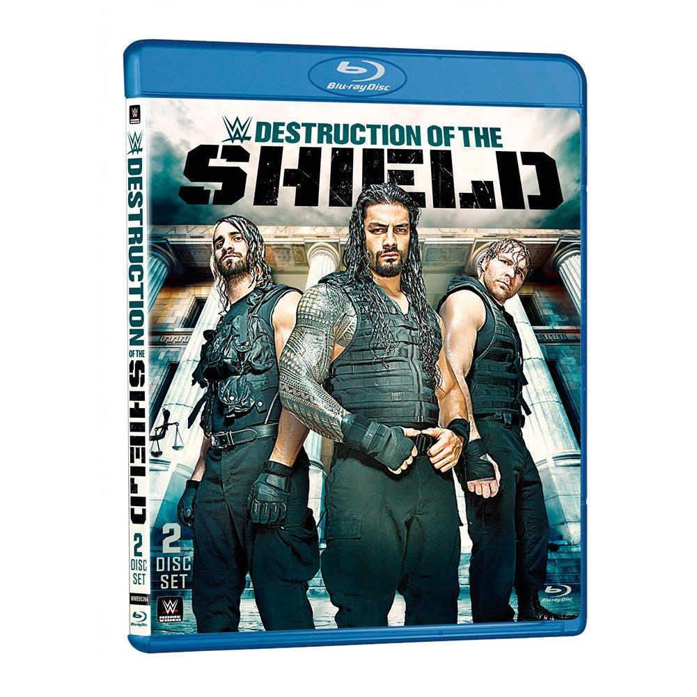 [美國瘋潮]正版WWE The Destruction of the Shield Blu-Ray DVD神盾軍團藍光組