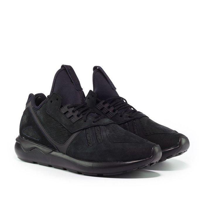 INDiCE ↗ ADIDAS Tubular Runner B24261 麂皮運動鞋 午夜黑