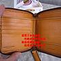 ☆優買二手精品名牌店☆ Burberry LONDON 黃 全皮 壓紋 logo 拉鍊 中夾 短夾 皮夾 零錢 信用卡