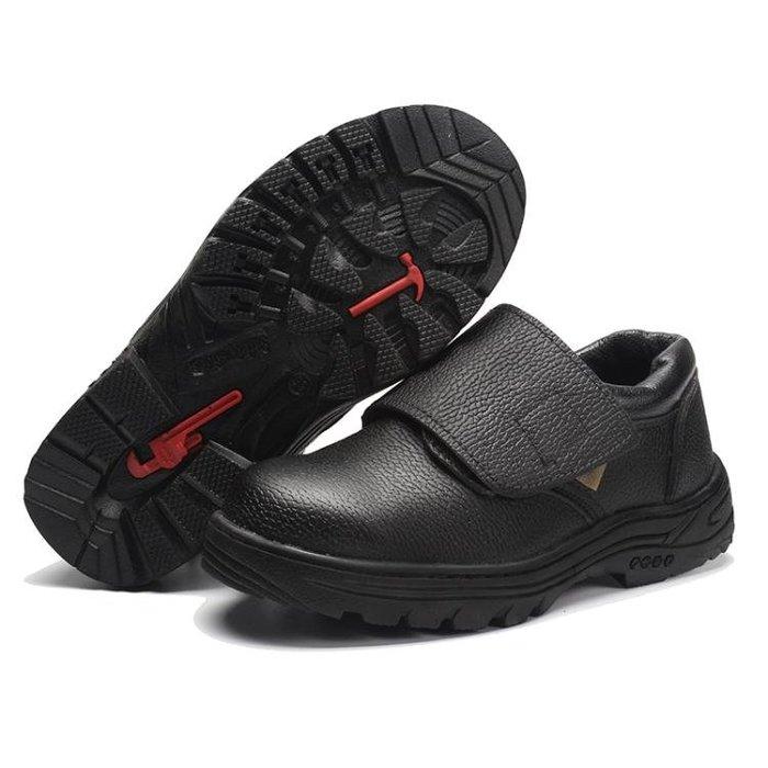(免運)電焊工勞保鞋工作安全鞋鋼包頭防燙男女低幫圓頭安全鞋鞋【莉芙小鋪】