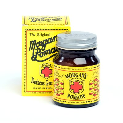 英國 Morgan's 經典 水洗式 黑髮油 Darken Grey Hair