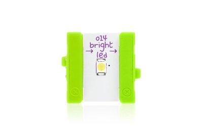 美國 littleBits 零件 (output):  BRIGHT LED  (8折出清)
