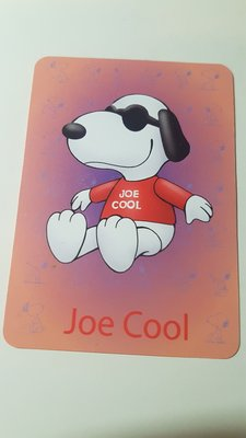 Snoopy 史諾比 x McDonalds 麥當勞 收藏卡 - Joe Cool