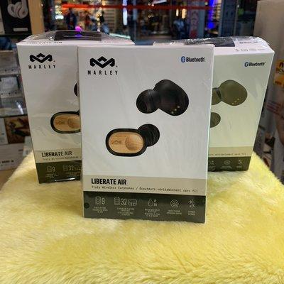 有現貨~視聽影訊 送收納袋+USB充電器 公司貨保固 Marley Liberate Air /年度最佳真無線藍牙耳機