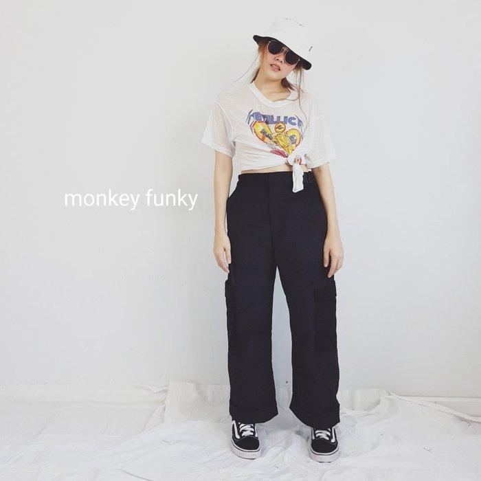 泰國MONKEY FUNKY(預購) - 潮流高腰寬褲