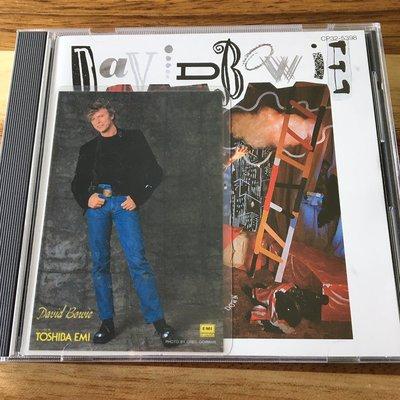 [老搖滾典藏] David Bowie-Never let me down 日版專輯
