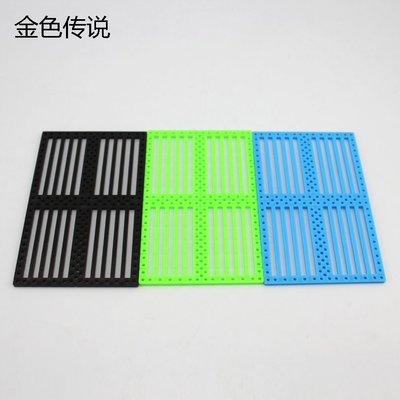 75120功能面板 車底盤 DIY車殼板 帶孔塑膠片 塑膠板 小製作材料W981-1[356607] 新北市