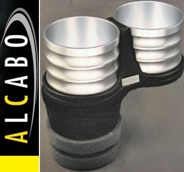 【JP.com】日本原裝 空運預購 ALCABO BMW F07/F10/F11專用置杯架 (銀色)