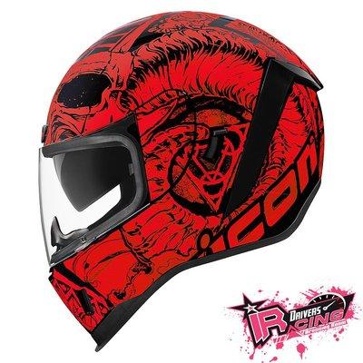 ♚賽車手的試衣間♚ Icon® Airform Sacrosanct 美國 街頭 搖滾 彩繪 重機 全罩 安全帽 B/R