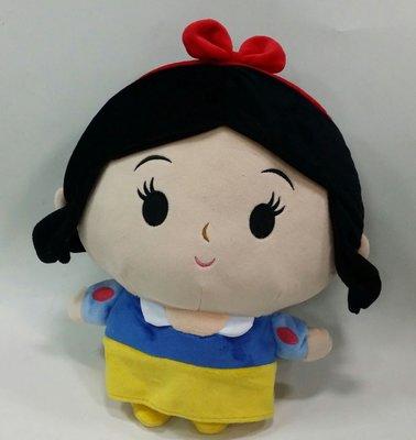 迪士尼公主 白雪公主 圓臉 玩偶 娃娃 迪士尼正版授權