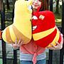 超大逗逗蟲娃娃~LARVA~正版授權~卡通~豆豆蟲大玩偶~逗逗蟲玩偶~最受歡迎玩偶