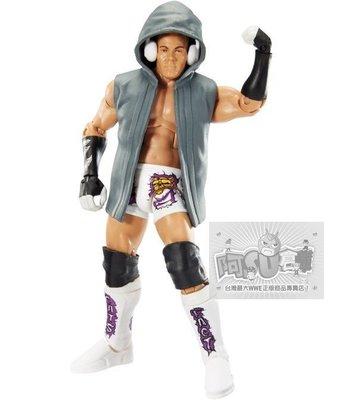 ☆阿Su倉庫☆WWE摔角 Tyson Kidd Elite 40 Figure 哈特家族精華版人偶附出場偶衣和配件