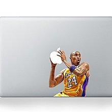 (3ckingdom) 蘋果 Apple logo貼紙 Macbook 貼紙 13吋 Air Pro Kobe 創意貼紙