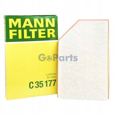 [現貨GoParts] MANN C35177 空氣芯 VOLVO S60 S80 V60 XC60 XC70 引擎濾網