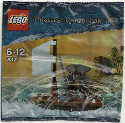 全新現貨 30131 LEGO Pirates of the Caribbean Jack's Boat polybag