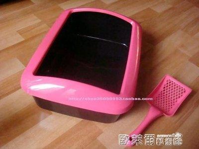 貓-砂盆 寵博士貓砂盆貓廁所 防濺砂設計 三色選擇