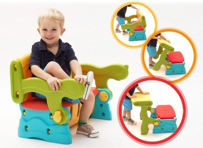 《 美國Grow'n up 》多用途學習儲物椅~2980免運~◎童心玩具1館◎