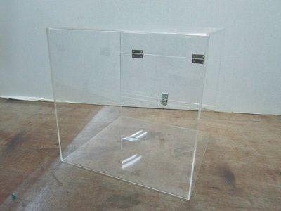 ~廣告舖~  透明壓克力製 功德箱 隨喜功德 (摸彩箱 抽籤箱 捐款箱 發票箱)(30cm)