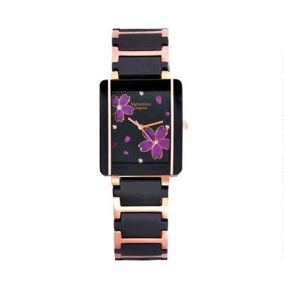 A0 61222RG-4M 愛戀櫻花半陶瓷手錶手表范倫鐵諾古柏 Valentino Coupeau