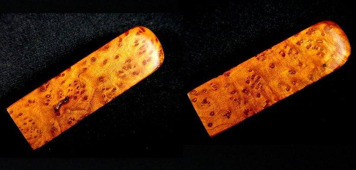 [福田工藝]檀香釘仔瘤閃花聞香把玩印章[入水急沈]油脂豐厚氣味芳醇6分19.3g[檀釘印2]