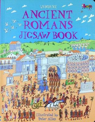 [邦森外文書] Usborne Ancient Romans Jigsaw Book  古羅馬大本拼圖書 精裝本