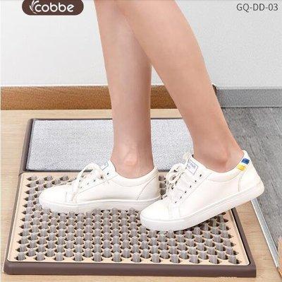 卡貝門口消毒清潔地墊進門擦鞋底家用入戶門墊蹭土吸水墊防滑地毯WD