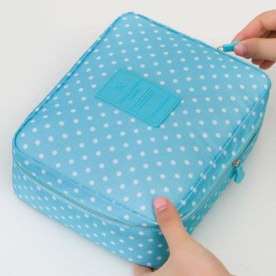 便攜化妝包大容量女收納包手拿包化妝品袋...