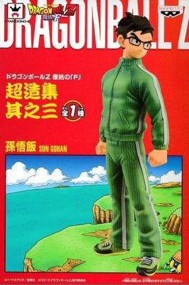 日本正版 景品 七龍珠Z 復活的F 超造集 其之三 孫悟飯 模型 公仔 日本代購