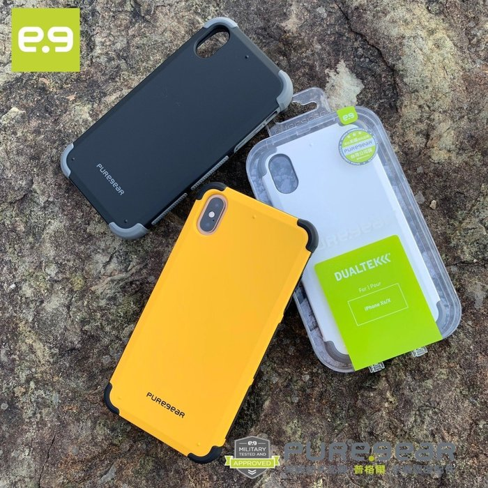 PureGear 普格爾 iPhone X/XS 5.8吋防震防摔保護殼