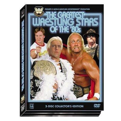 ☆阿Su倉庫☆WWE摔角 Greatest Wrestling Stars of the 80s DVD 80年代最偉大摔角巨星精選 特價中