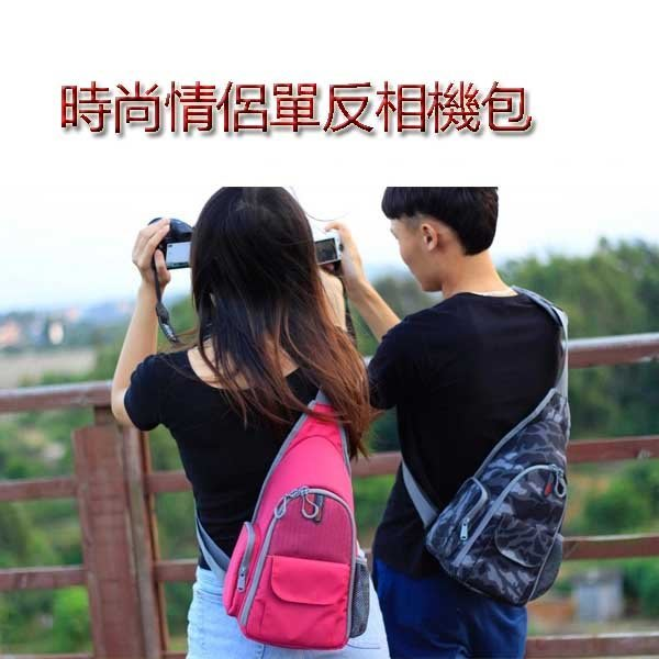 5Cgo【鴿樓】會員有優惠  41714759922 專業攝影包 單肩佳能700D單反相機包斜跨包男女5d3尼康微單三角
