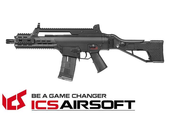 【翔準軍品AOG】ICS AAR SFS(黑)狙擊折疊托 長槍 電動槍 步槍 生存遊戲 ICS-233