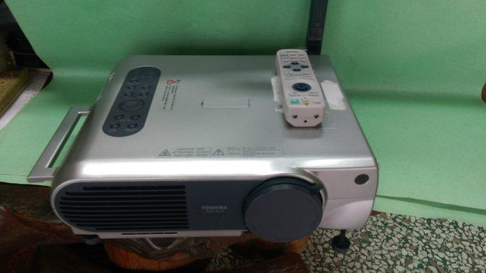 3D 實物投影機Toshiba TLP-X21DU LCD Porjector  東芝 (備品機)