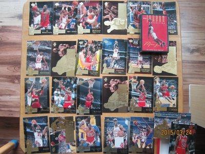 網拍讀賣~傳奇球星~Michael Jordan~麥克喬丹~大卡全套~25張一起賣~5000元起標~非常少見~輕鬆付~