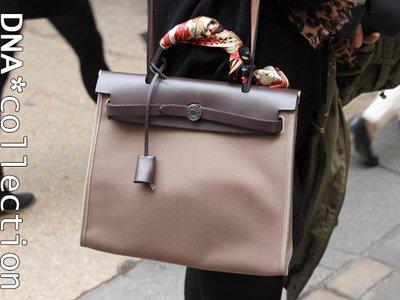 DNA*collection] 訂製包系列- 真皮帆布手提凱莉肩背鎖頭方包 Hermes相似款BIRKIN SMALLS
